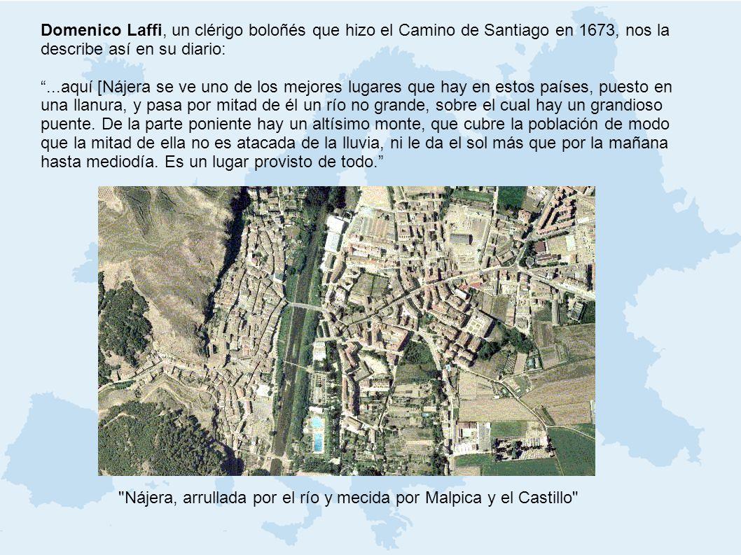 Nájera, arrullada por el río y mecida por Malpica y el Castillo