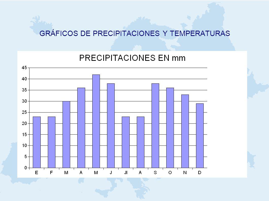 GRÁFICOS DE PRECIPITACIONES Y TEMPERATURAS