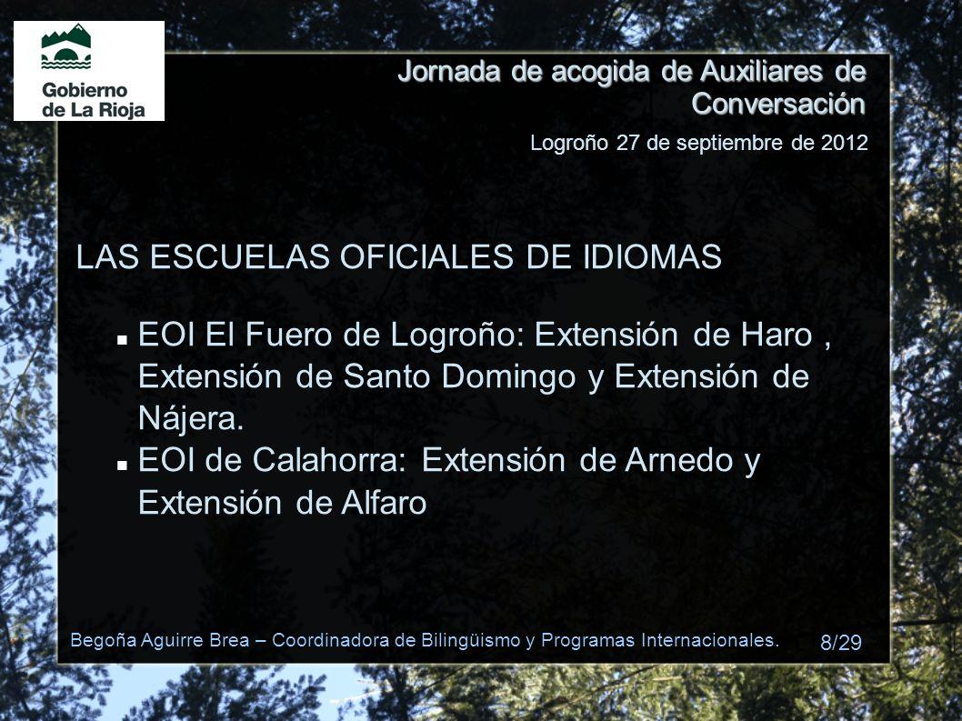 LAS ESCUELAS OFICIALES DE IDIOMAS