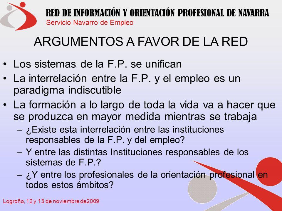 ARGUMENTOS A FAVOR DE LA RED