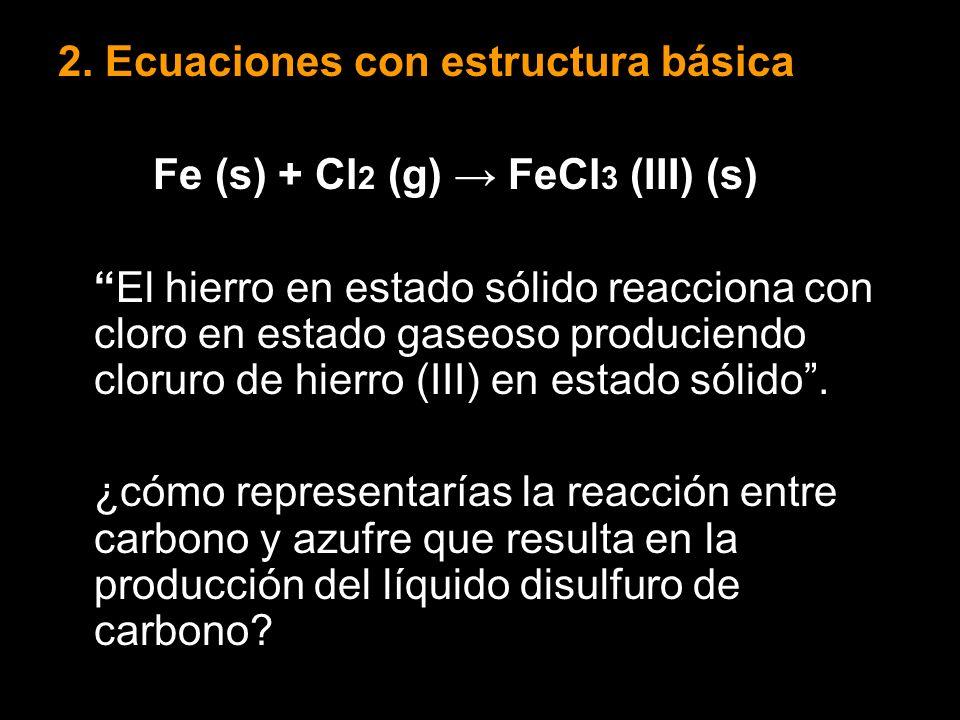 2. Ecuaciones con estructura básica