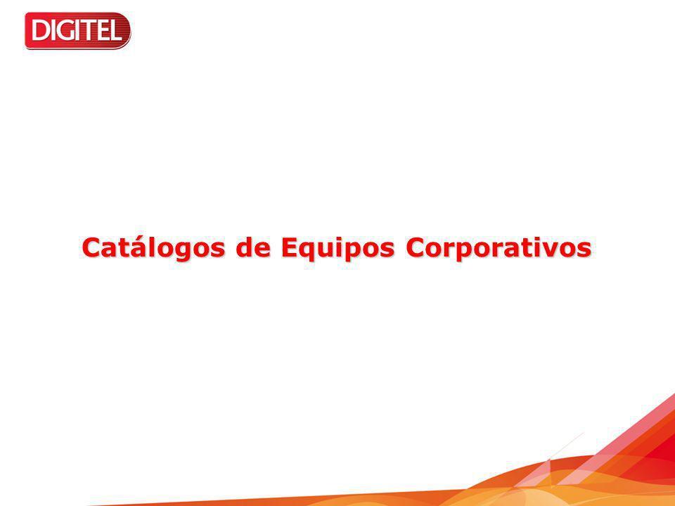 Catálogos de Equipos Corporativos