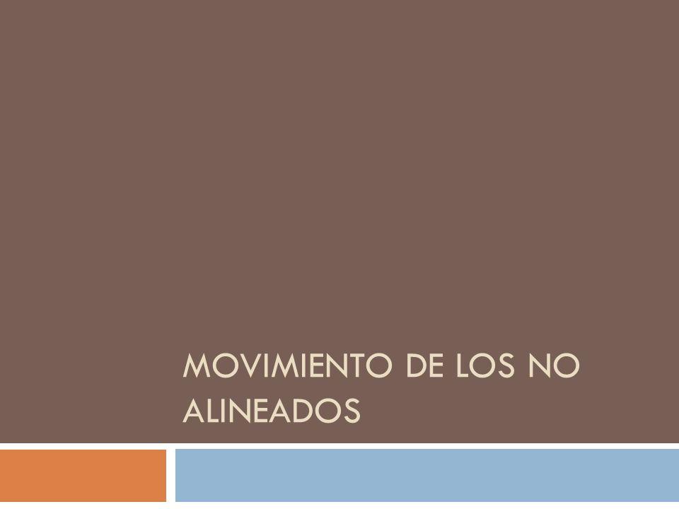 Movimiento de los No Alineados