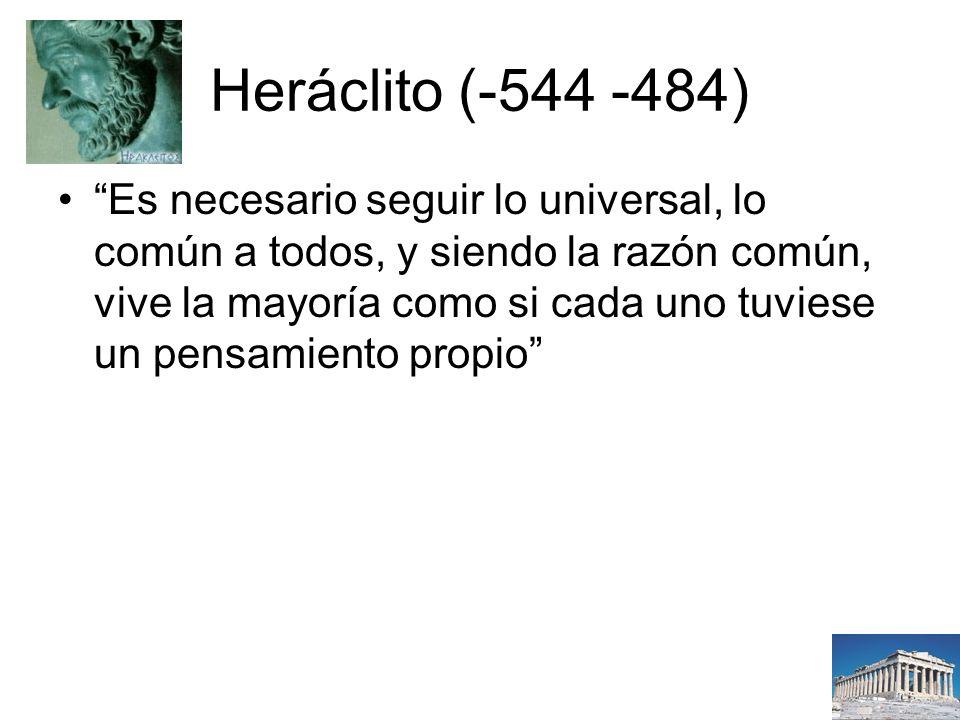 Heráclito (-544 -484)