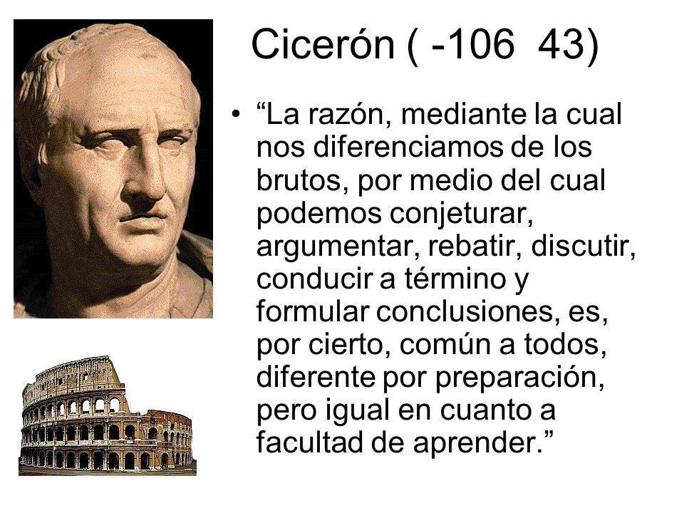 Cicerón ( -106 43)