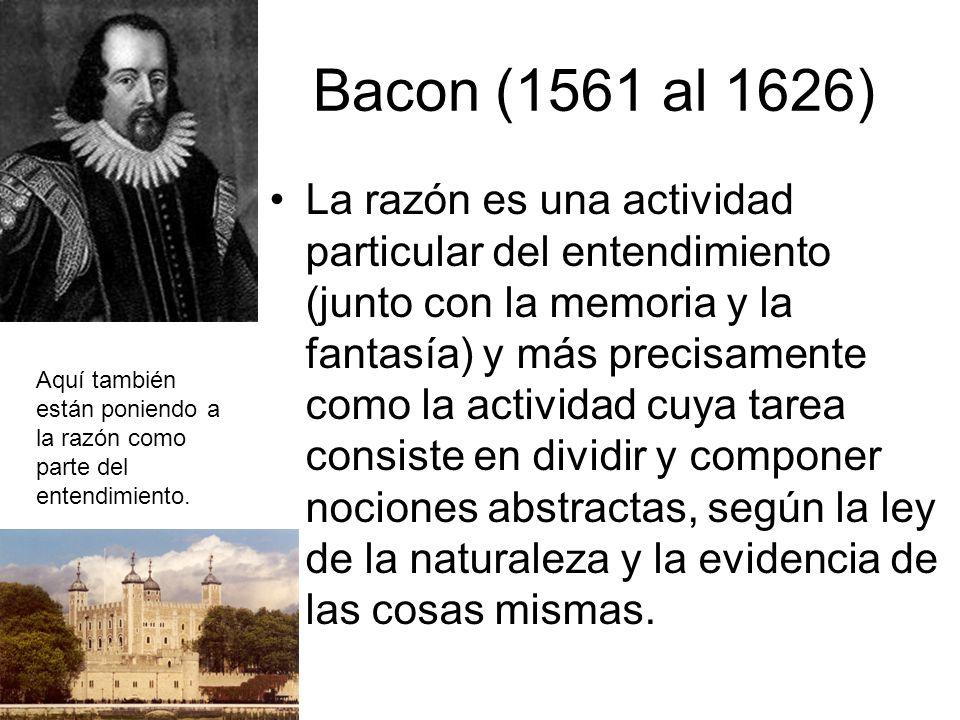 Bacon (1561 al 1626)