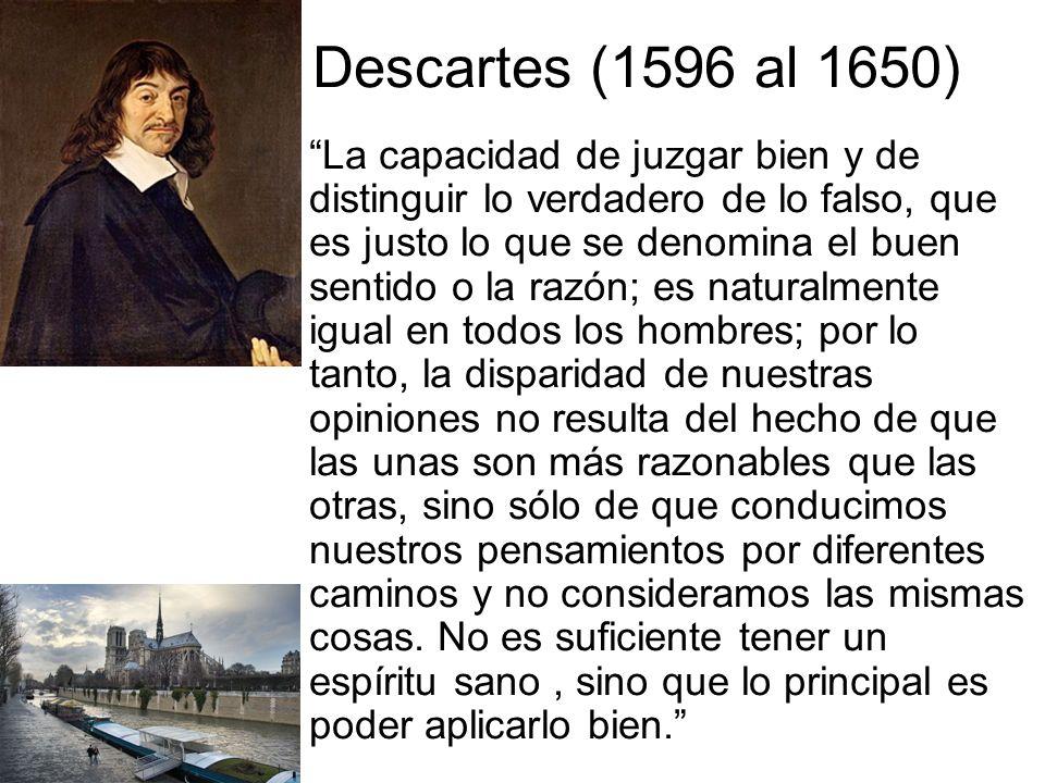 Descartes (1596 al 1650)