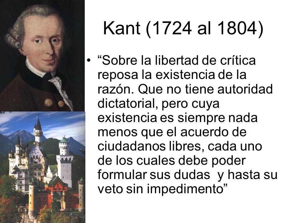 Kant (1724 al 1804)