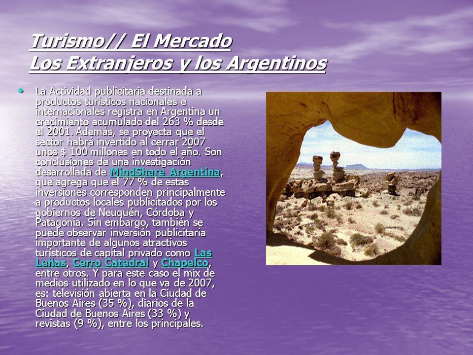 Turismo// El Mercado Los Extranjeros y los Argentinos