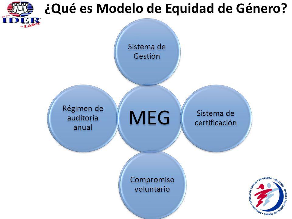 ¿Qué es Modelo de Equidad de Género