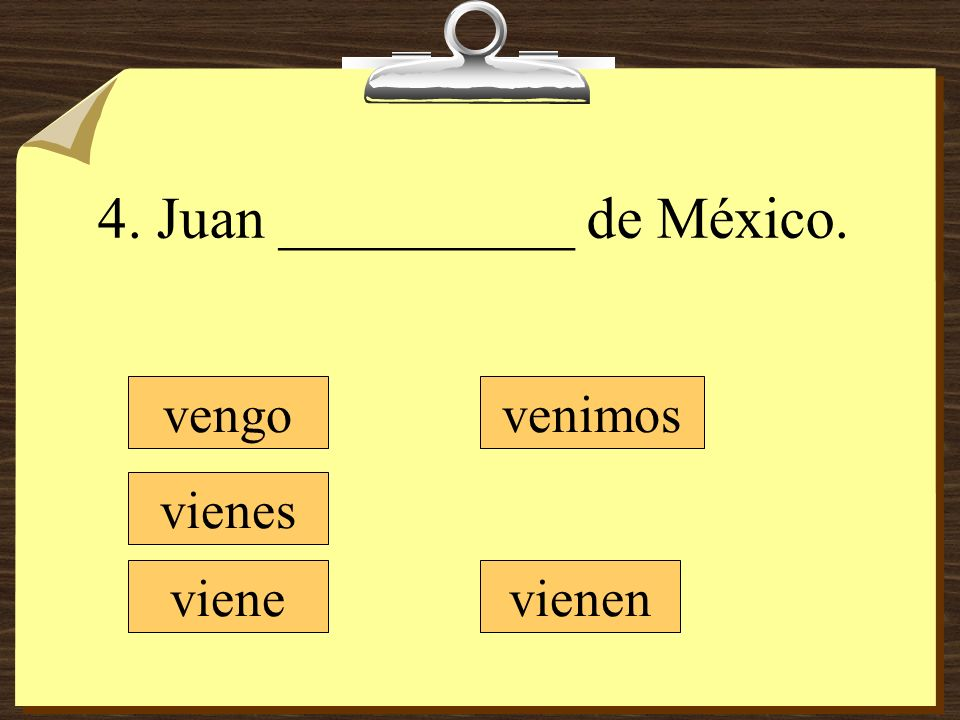 4. Juan __________ de México.