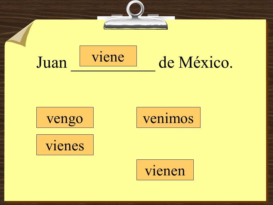 Juan __________ de México.