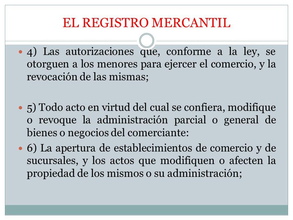 Registros de la propiedad mercantil y de bienes muebles el registro mercantil objeto calidad el - Registro mercantil de bienes muebles ...