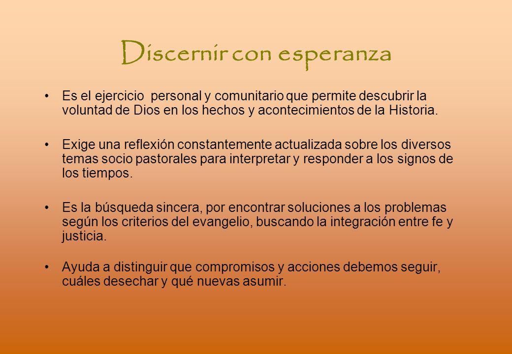 Discernir con esperanza
