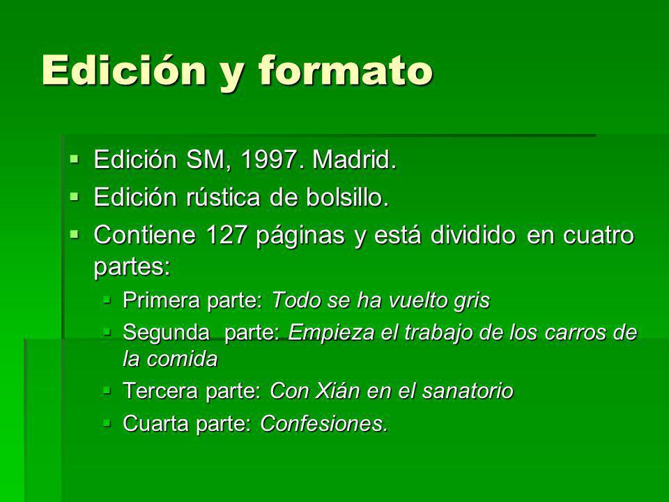 Edición y formato Edición SM, 1997. Madrid.