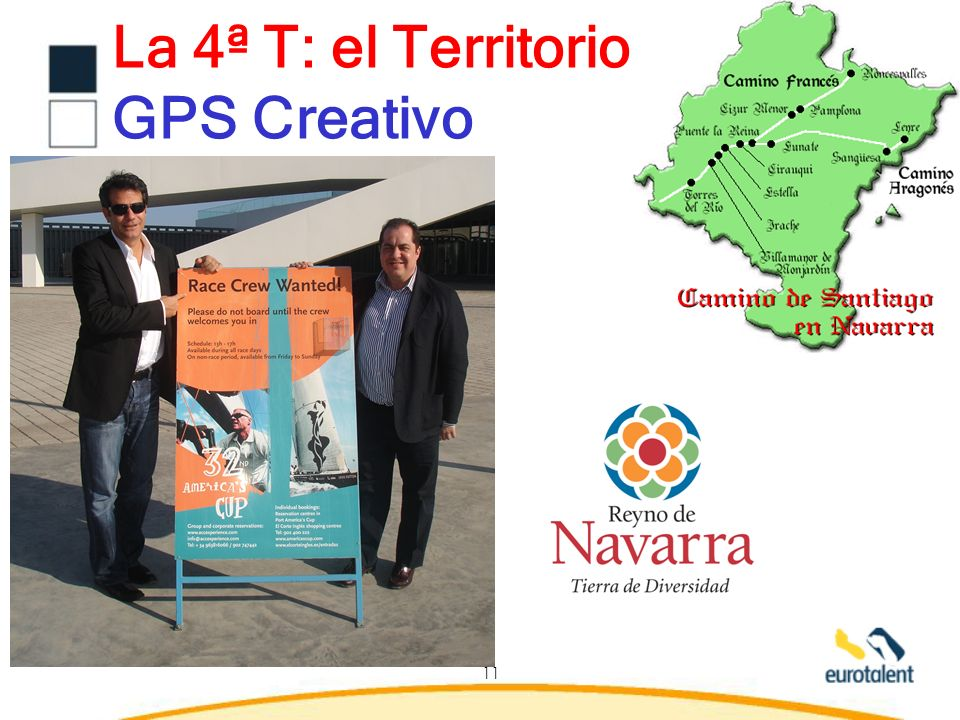 La 4ª T: el Territorio GPS Creativo