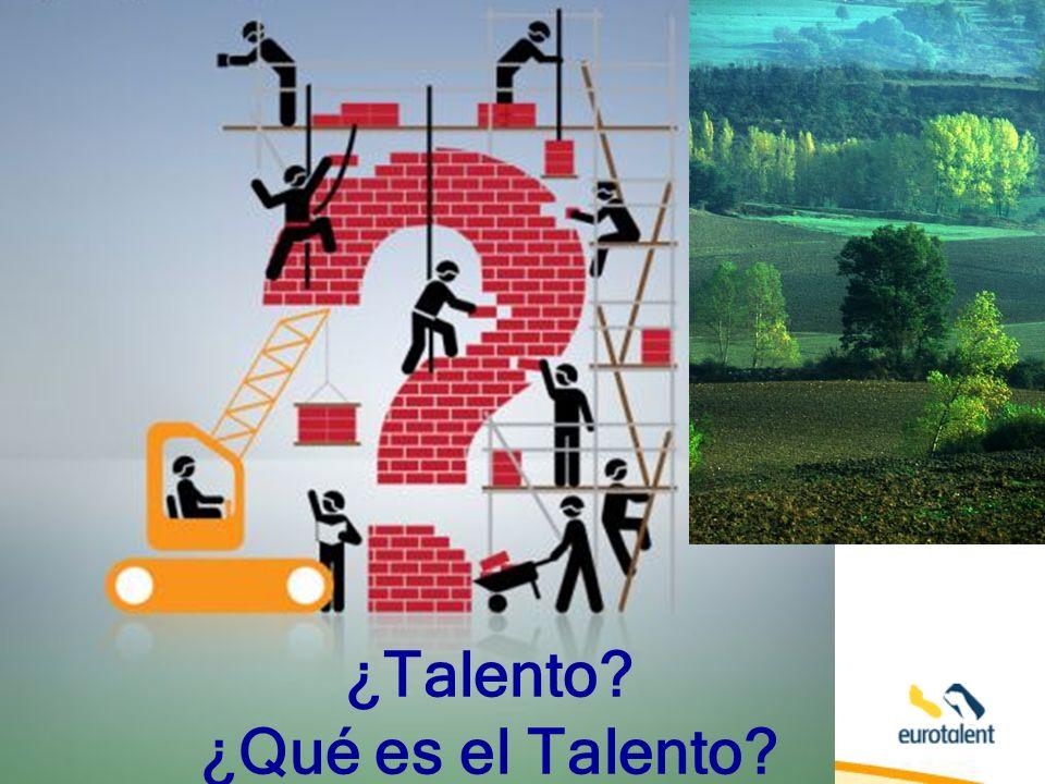 ¿Talento ¿Qué es el Talento