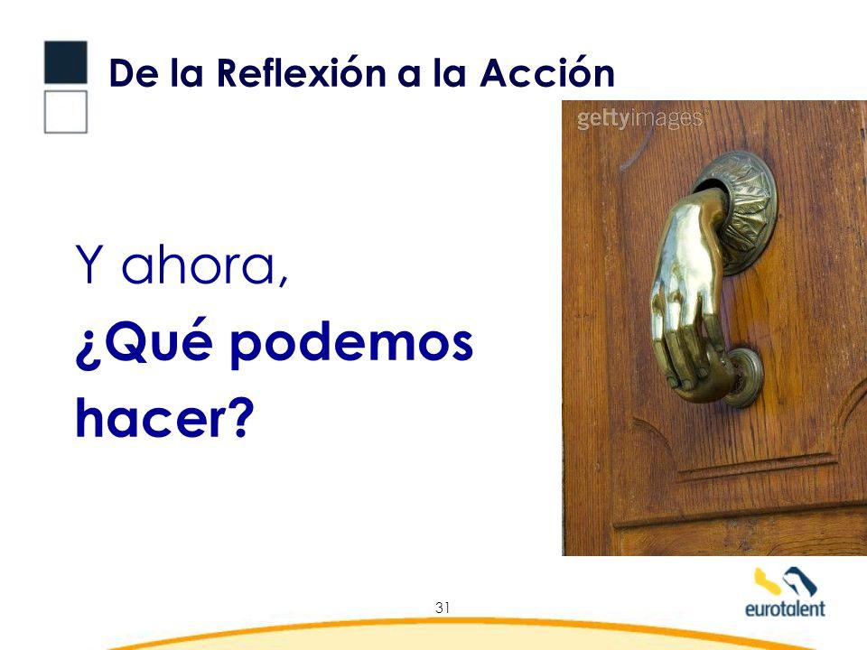 De la Reflexión a la Acción