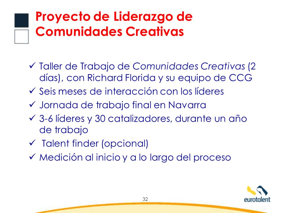 Proyecto de Liderazgo de Comunidades Creativas