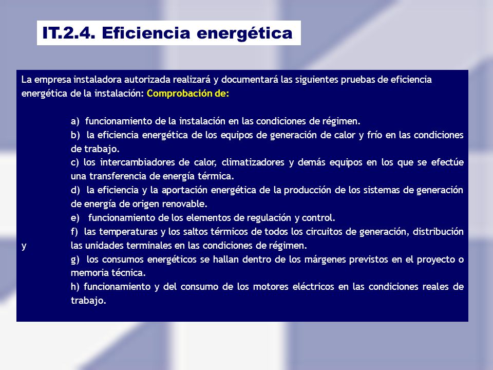 IT.2.4. Eficiencia energética