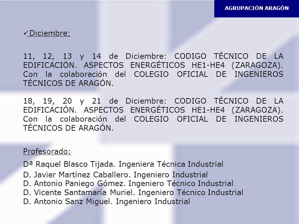 Dª Raquel Blasco Tijada. Ingeniera Técnica Industrial