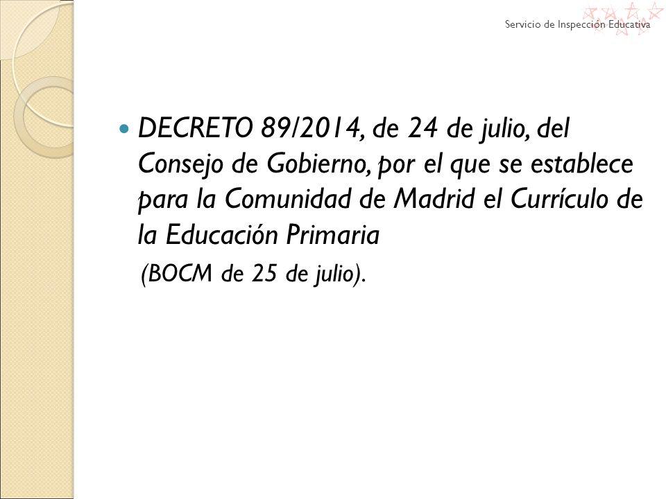 Ley org nica 8 2013 para la mejora de la calidad educativa for Sede de la presidencia de la comunidad de madrid