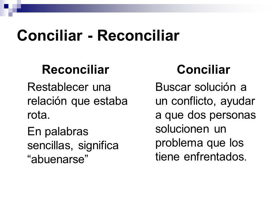 La conciliaci n procedimiento de comunicaci n y for Que es un proceso extrajudicial