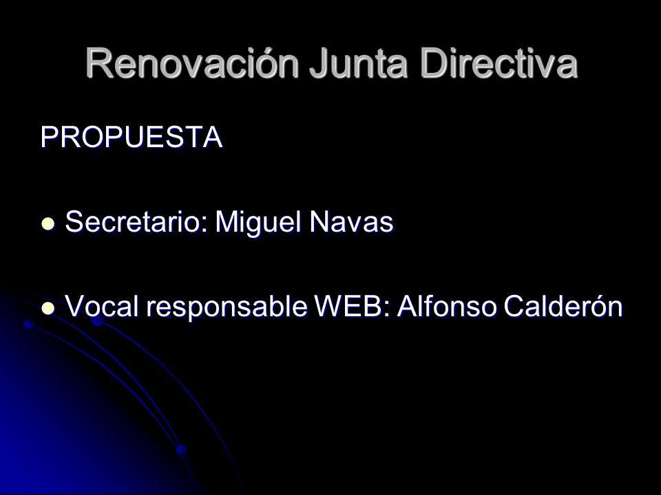 Renovación Junta Directiva