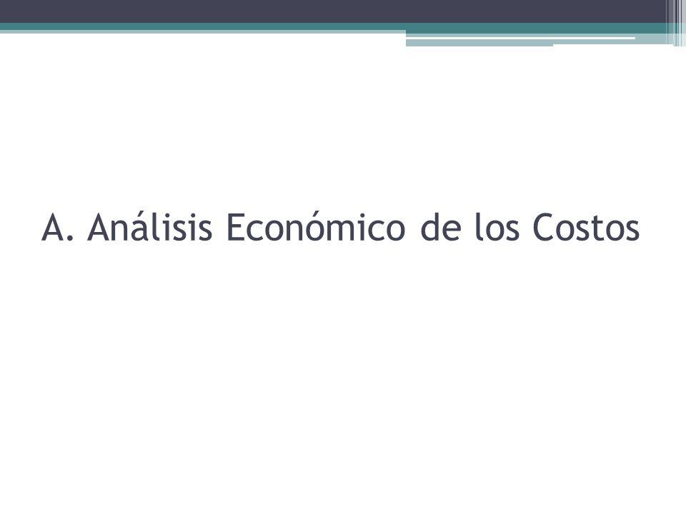 A. Análisis Económico de los Costos