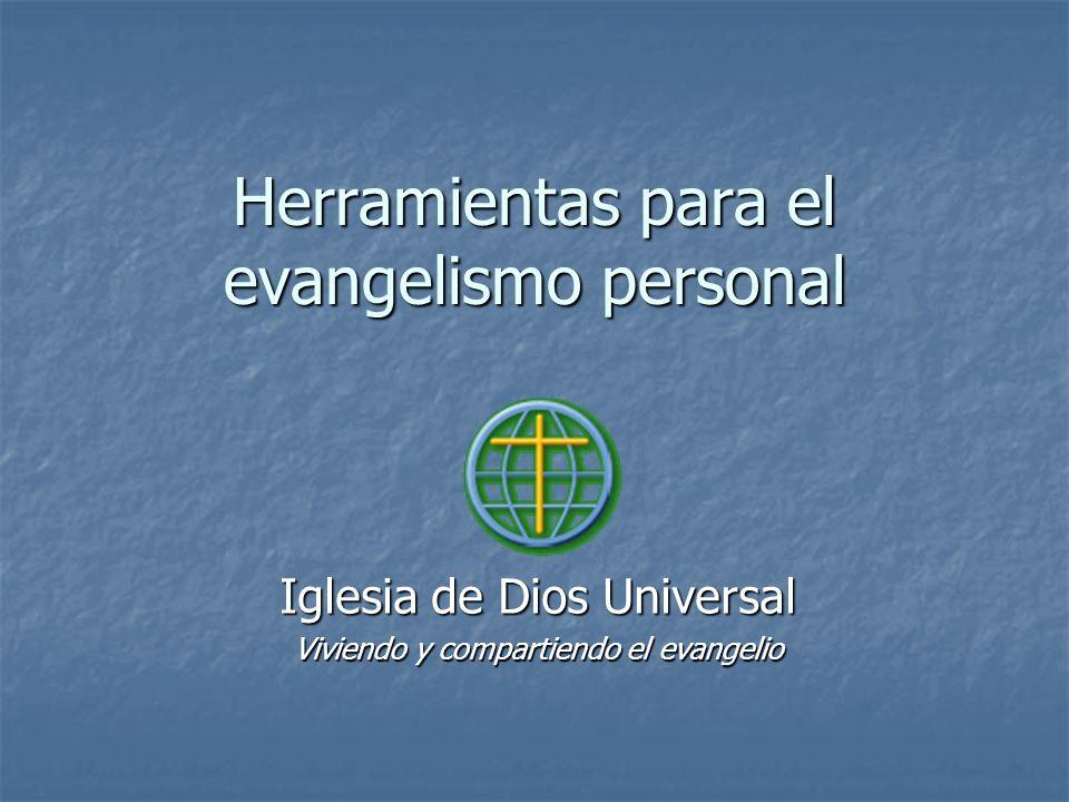Herramientas para el evangelismo personal