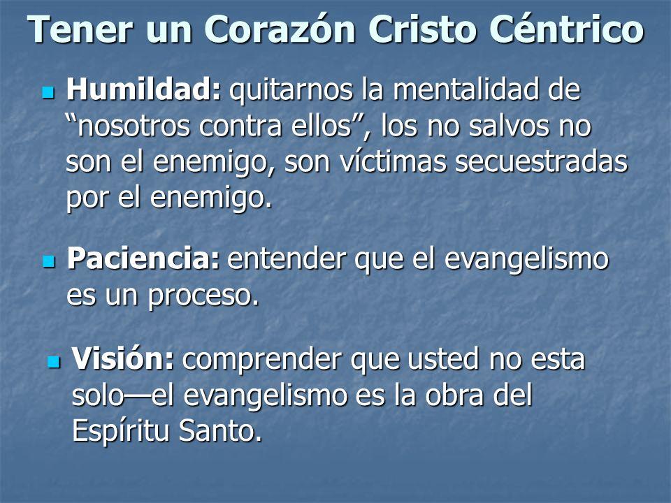 Tener un Corazón Cristo Céntrico