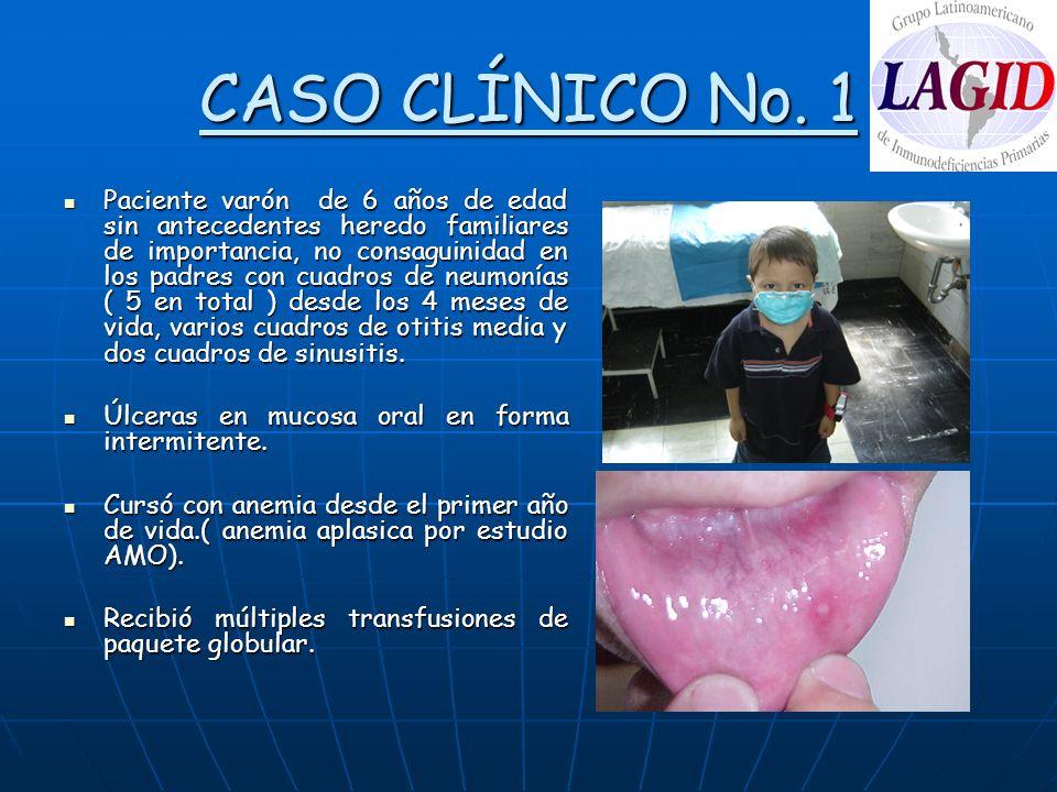 CASO CLÍNICO No. 1