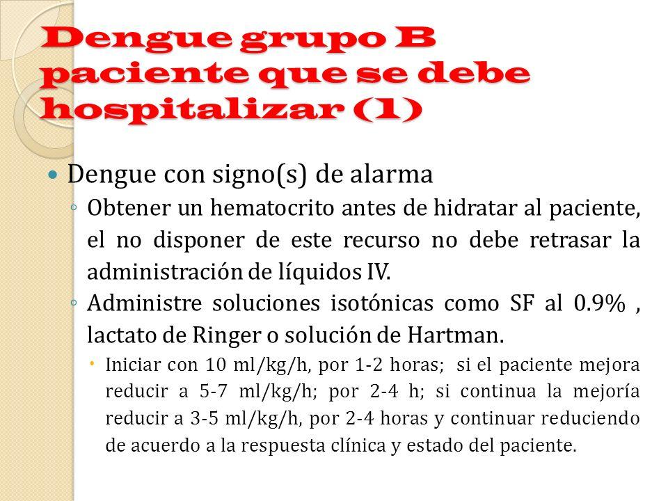 Dengue grupo B paciente que se debe hospitalizar (1)