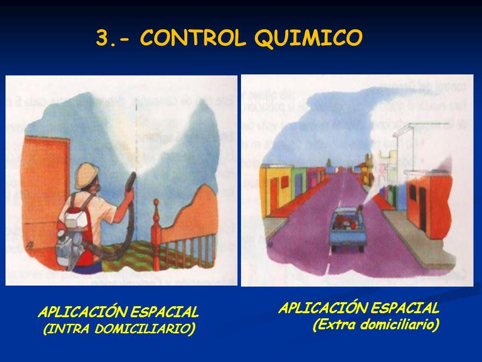 3.- CONTROL QUIMICO APLICACIÓN ESPACIAL (Extra domiciliario)