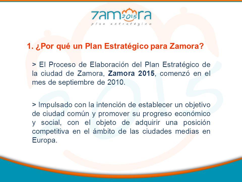 1. ¿Por qué un Plan Estratégico para Zamora