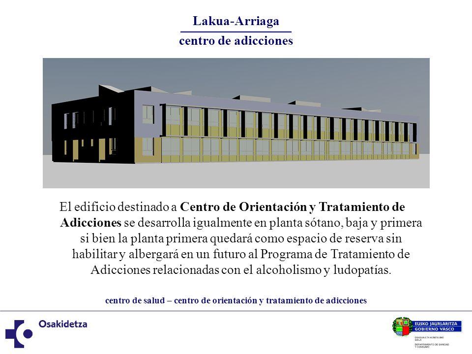 Lakua-Arriaga centro de adicciones.