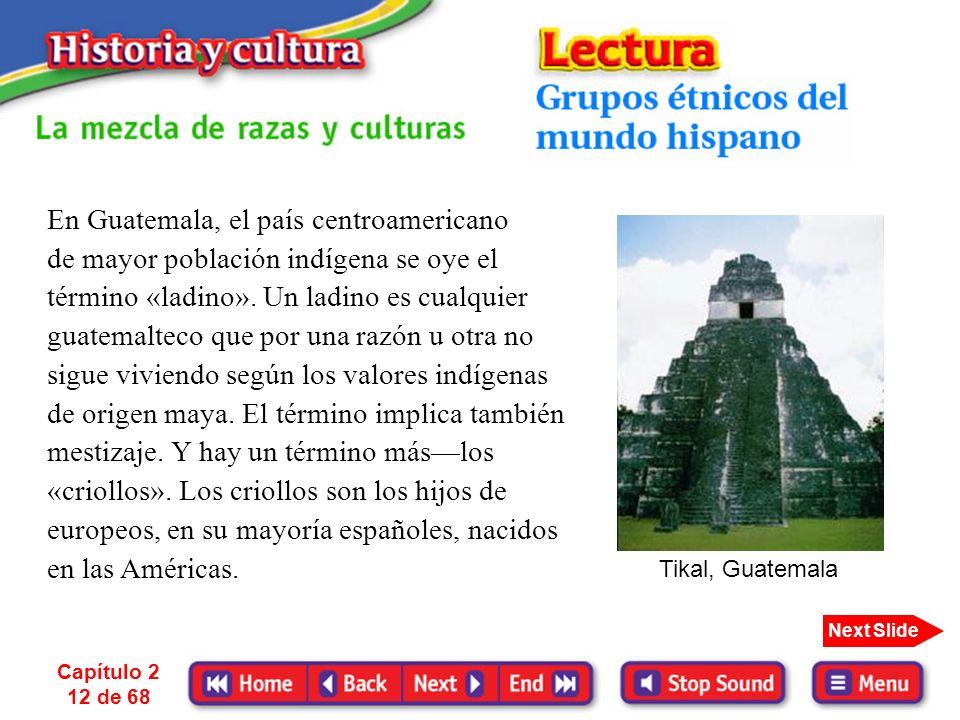 En Guatemala, el país centroamericano