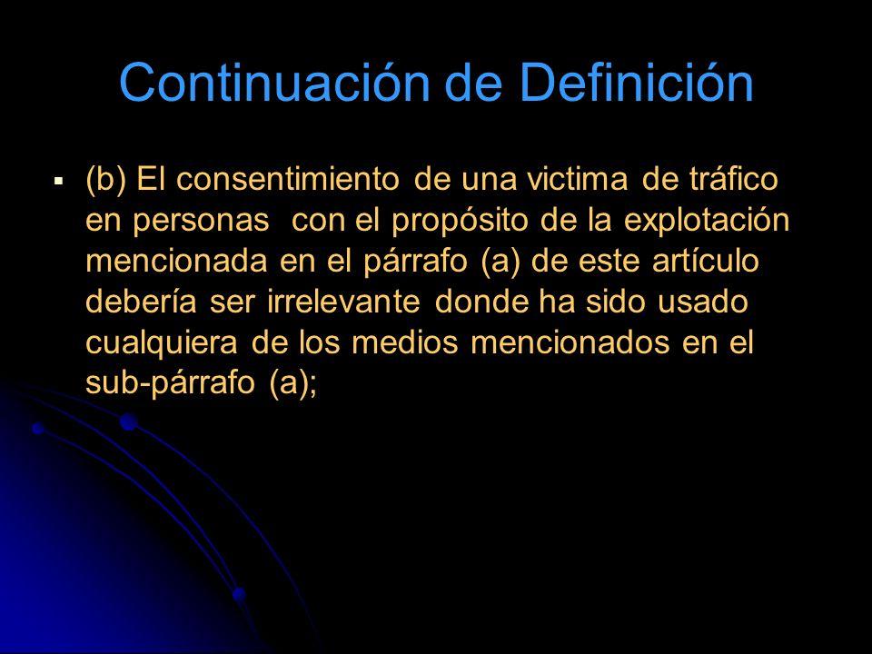 Continuación de Definición
