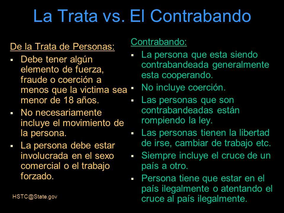 La Trata vs. El Contrabando