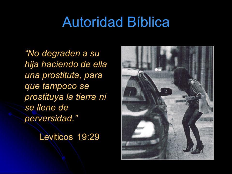 Autoridad Bíblica Leviticos 19:29