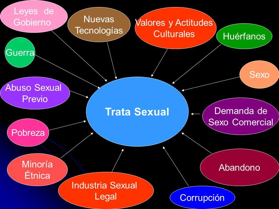 Trata Sexual Leyes de Gobierno Nuevas Valores y Actitudes Tecnologías