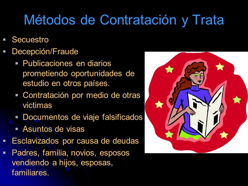 Métodos de Contratación y Trata