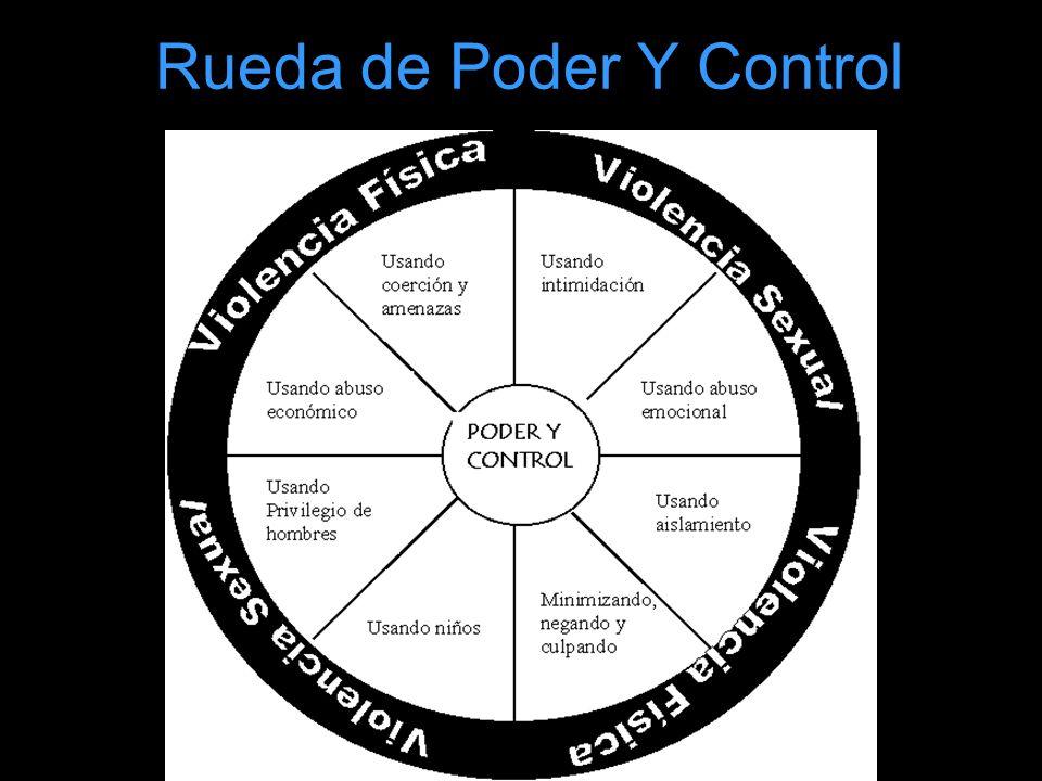 Rueda de Poder Y Control