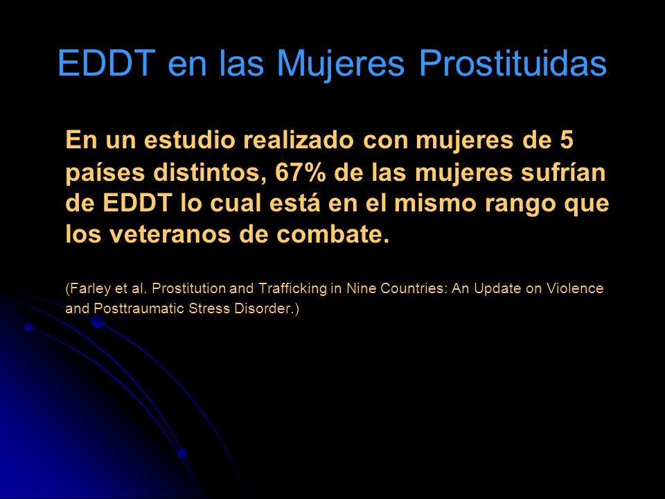 EDDT en las Mujeres Prostituidas