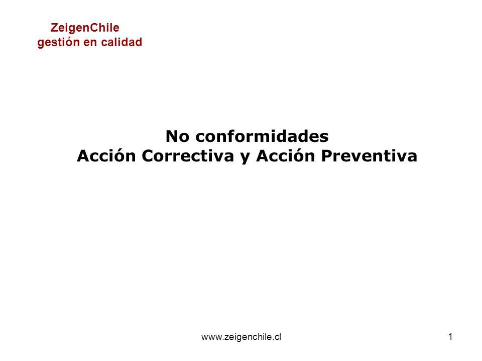 Acción Correctiva y Acción Preventiva