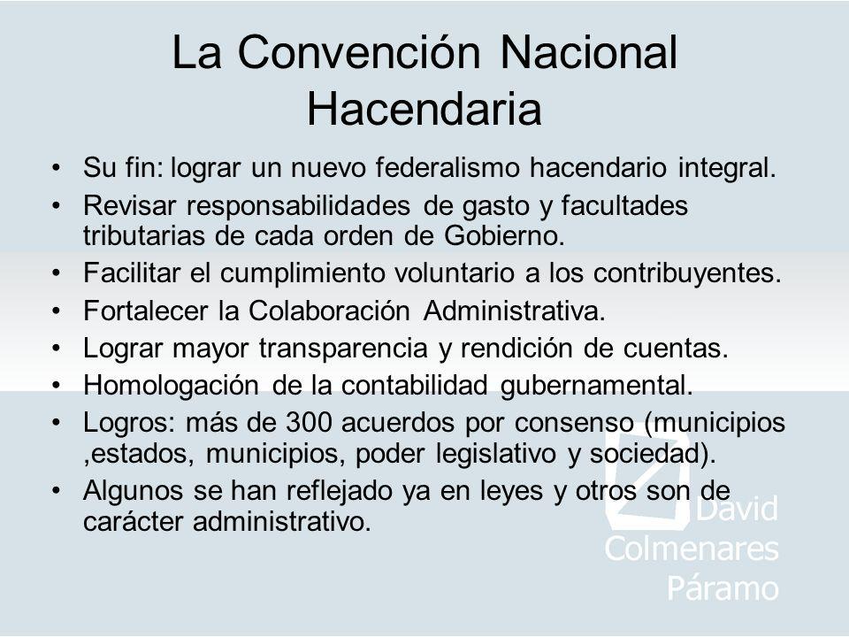 La Convención Nacional Hacendaria