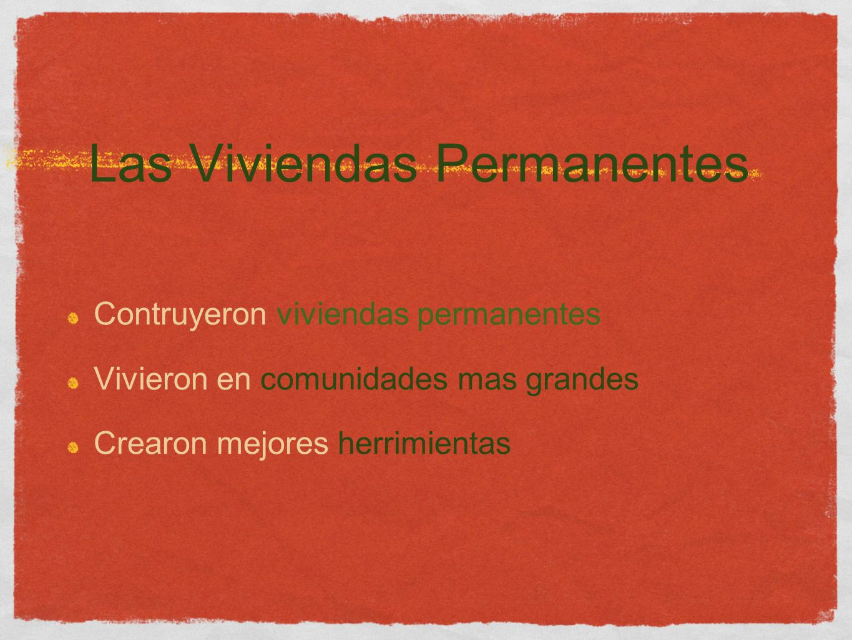 Las Viviendas Permanentes