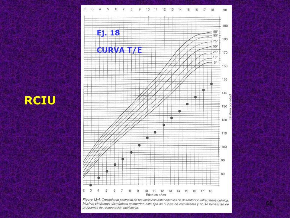 Ej. 18 CURVA T/E RCIU