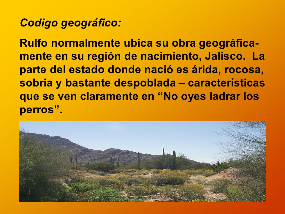 Codigo geográfico: