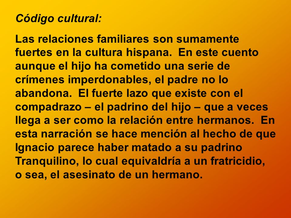 Código cultural: